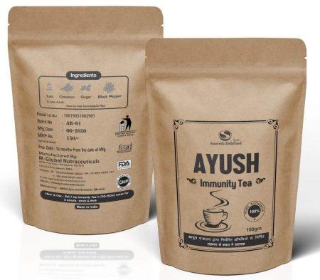 Ayurveda Redefined Ayush Immunity Tea, Ayush Kadha (Pack of 2): Best Homemade Kadha Recipe To Boost Your Immune Health