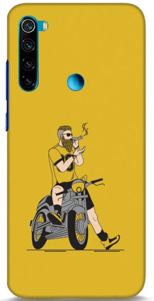 Biker Swag Back Cover for Redmi Note 8: Best Xiaomi Redmi Note 8 Back Cover