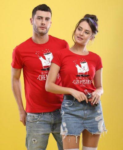 Bonorganik Chemistry Combo couples T-shirt: Best Couple Tshirts