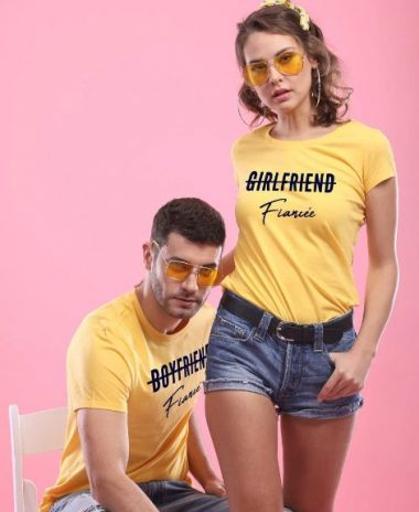 Bonorganik Fiancee, Matching T-shirts For Couples: Best Couple Tshirts