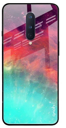 Colorful Aura Glass Case for OnePlus 7 Pro: Best OnePlus 7 Pro Cover