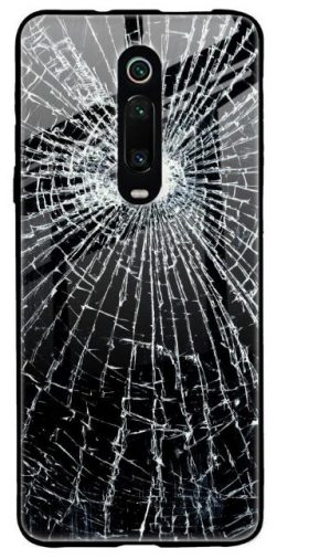 Cracked Design Glass Case for Redmi K20 Pro: Best Redmi K20 Pro Cover