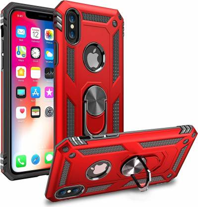 Dr. Vaku Back Cover for Apple iPhone X / XS Magnetic Holder Ring Tough Armor Kickstand Hybrid Case: Best iPhone XS Cover
