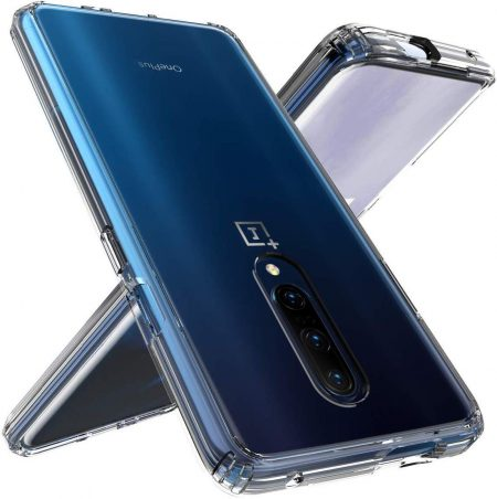 ELICA Fusion Bumper Transparent Silicon Case for OnePlus 7T Pro: Best Oneplus 7T Pro Cover