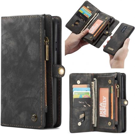 Excelsior Premium Leather Wallet Flip Case Cover: Best OnePlus 7 Pro Cover