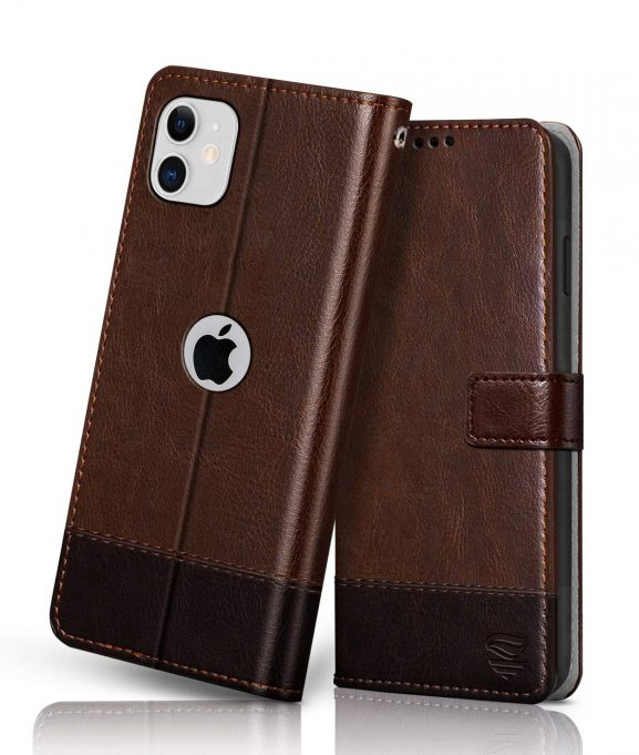 FLIPPED Vegan Leather iPhone 11 Cover
