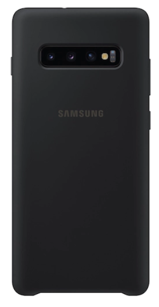 Galaxy S10+ Silicone Cover, Black: Best Cover For Galaxy S10+