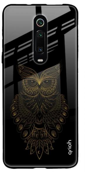 Golden Owl Glass Case for Redmi K20 Pro: Best Redmi K20 Pro Cover