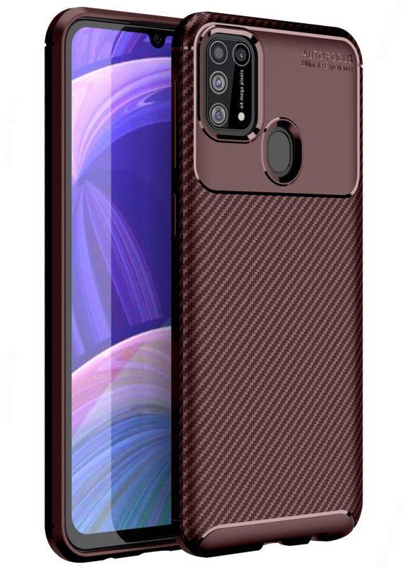 Golden Sand for Samsung M31 Case Back Cover Drop Tested Shock Proof Slim Armor