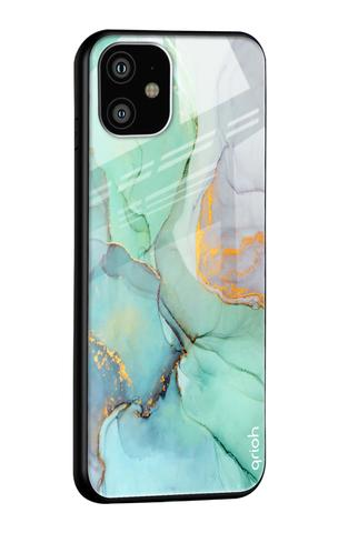 Green Marble iPhone 11 Glass case