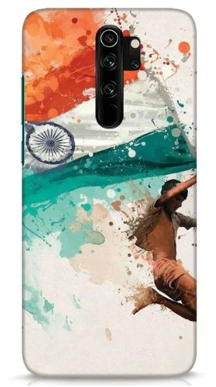 Indian Flag Back Cover for Redmi Note 8 Pro