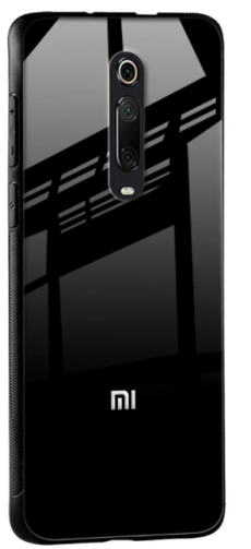 Jet Black Glass Case for Redmi K20 Pro: Best Redmi K20 Pro Cover