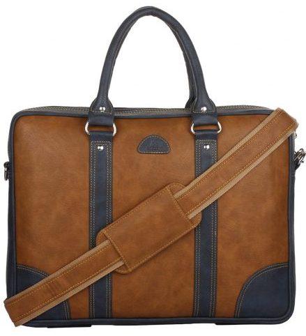 K London Leatherite Handmade Bag: best laptop bag under 2000 rupees