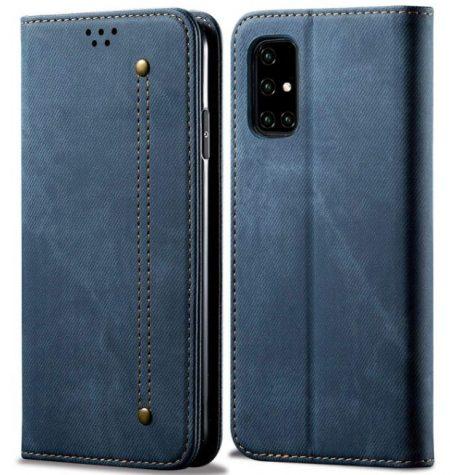 KLD Denim Flip Cover: Best cases for Samsung Galaxy A51