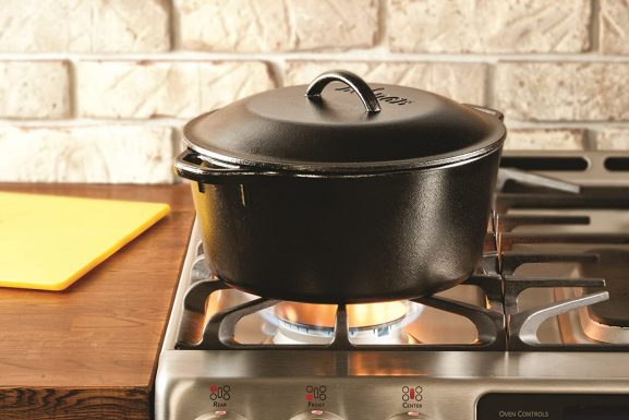 Lodge 5 Quart Cast Iron Dutch Oven: Best Dutch Oven