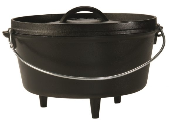 Lodge L10DCO3 Cast Iron Deep Camp 10 Inch Dutch Oven: Best Dutch Oven
