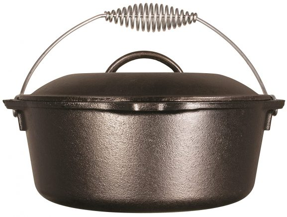 Lodge L8DO3 Pre-Seasoned Cast Iron Dutch Oven: Best Dutch Oven
