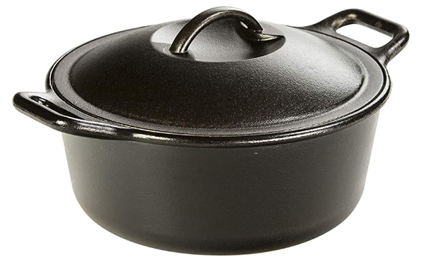 Lodge Pro-Logic 4 Quart Cast Iron Dutch Oven: Best Dutch Oven