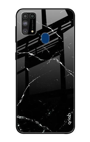 Mirror Crack Pattern Glass case for Samsung Galaxy M31