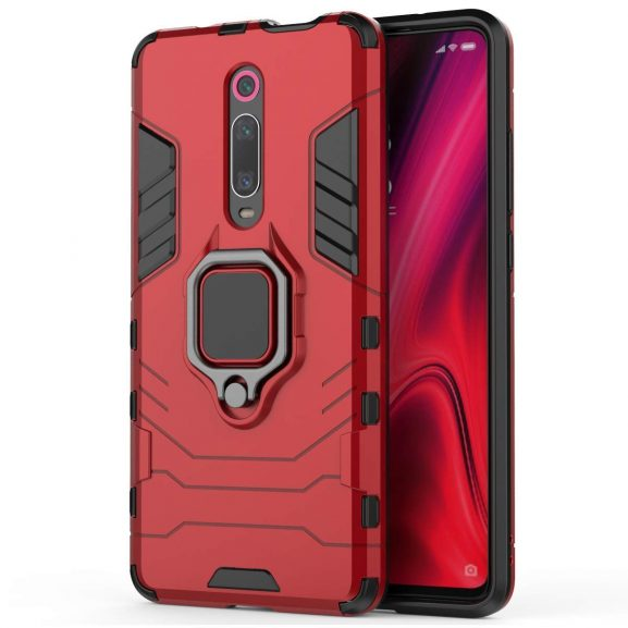 Nik case Ring Holder Panther Design, PC & TPU Armor Back Phone Case for Redmi K20 Pro: Best Redmi K20 Pro Cover