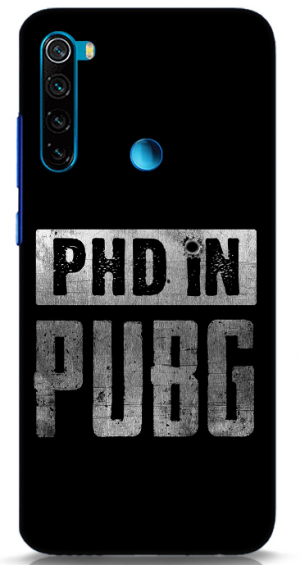PUBG Back Cover for Redmi Note 8: Best Xiaomi Redmi Note 8 Back Cover