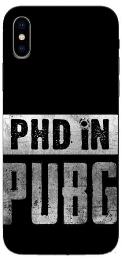 Phd In Pubg iPhone XS Max Mobile Cover: Best iPhone XS Cover