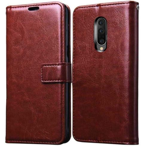 Pikkme Leather Magnetic Flip Wallet Case Cover for Oneplus 7 Pro: Best OnePlus 7 Pro Cover