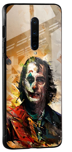 Psycho Villain Glass Case for OnePlus 7 Pro: Best OnePlus 7 Pro Cover