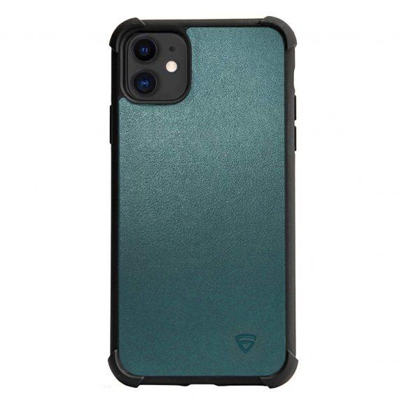 RAEGR Eagle Green Leather iPhone 11 Case