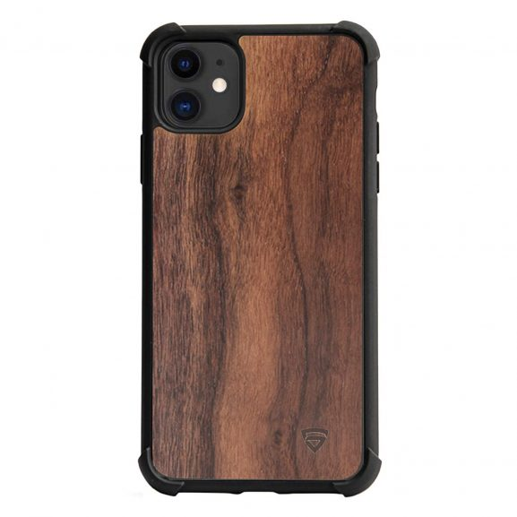 RAEGR Real Walnut Wood iPhone 11 Case