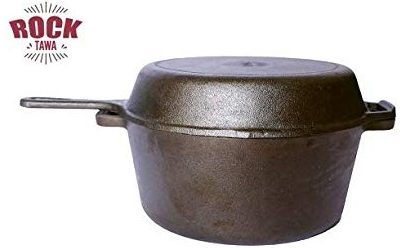 Rock Tawa Cast Iron Combo 5Lts Dutch oven: Best Dutch Oven