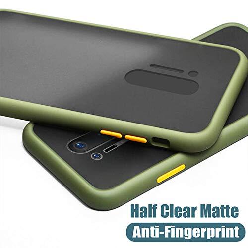 Rtistque Smoke Translucent Shock Proof Rubberized Hard Back Case: Best Oneplus 8 Pro Cover