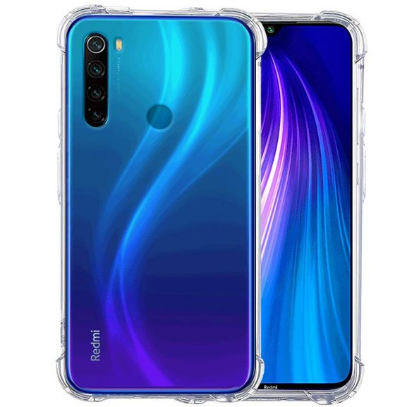 Soft Crystal Clear Case for Redmi Note 8: Best Xiaomi Redmi Note 8 Back Cover