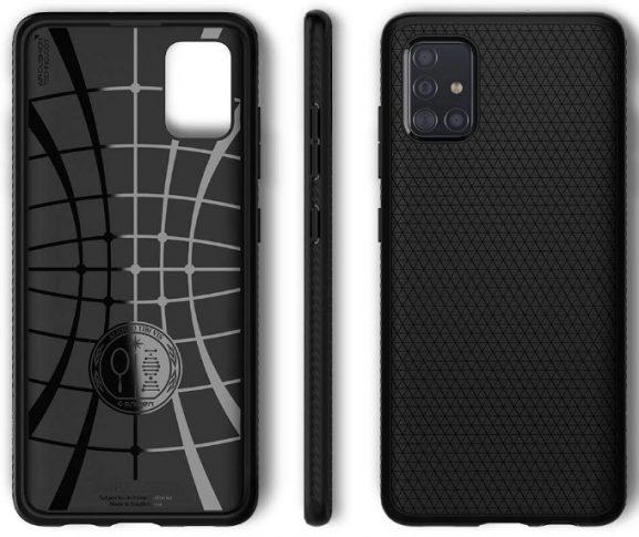 Spigen Liquid Air: Best cases for Samsung Galaxy A51