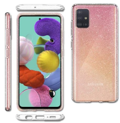 Spigen Liquid Crystal Quartz: Best cases for Samsung Galaxy A51