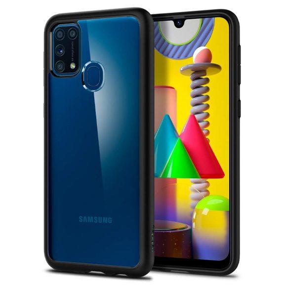 Spigen Ultra Hybrid Back Cover Case Designed for Samsung Galaxy M31
