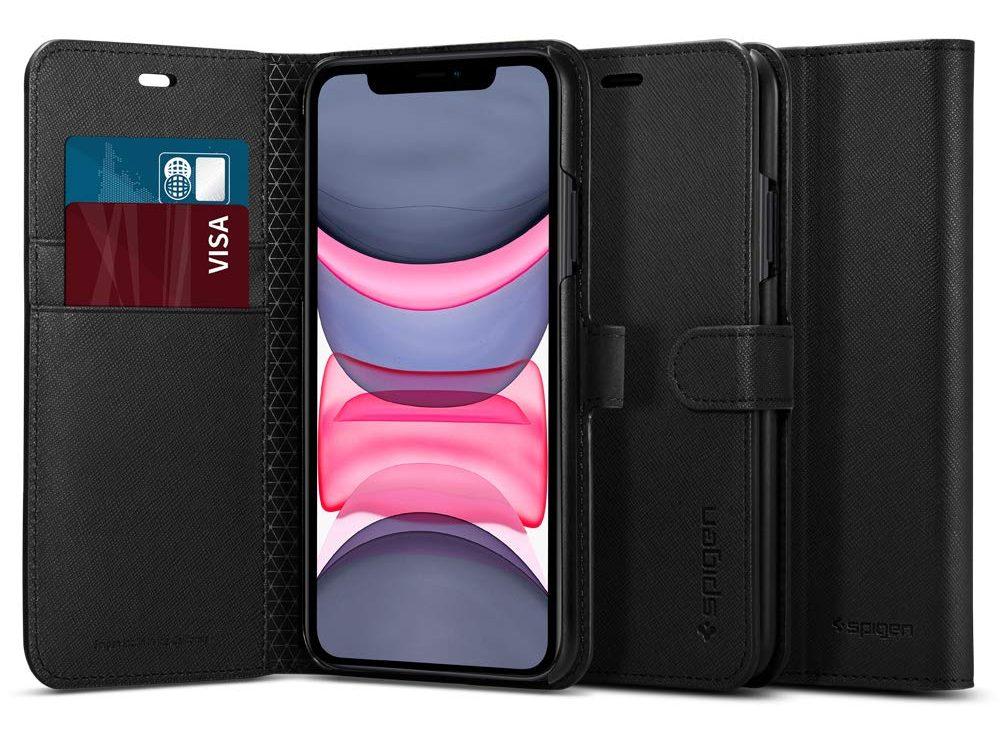 Spigen iPhone 11 Case Wallet Style - iPhone 11 cover