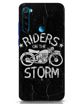 Storm Rider Back Cover for Redmi Note 8: Best Xiaomi Redmi Note 8 Back Cover