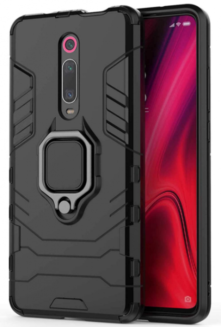 TecKraft Tactical Hybrid Cover Hard Back Bumper Case for Redmi K20 Pro: Best Redmi K20 Pro Cover