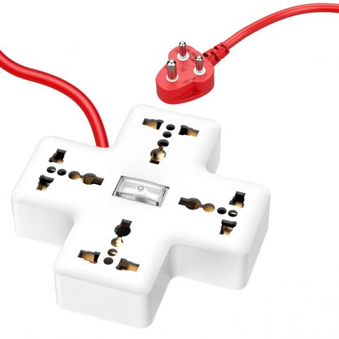 APPUCOCO Plus PP1 4+1 Extension Board - White: Best Extension Board