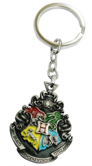 Aai Silver Harry Potter Inspired Hogwarts Key Case: Keychain