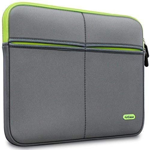 AirCase Laptop Bag Sleeve Case | 6-Multi Pockets (Grey): Best Laptop Sleeve