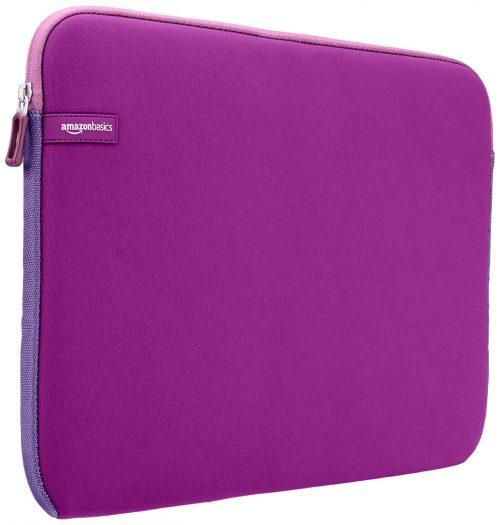 AmazonBasics 15.6-Inch Laptop Sleeve - Purple: Best Laptop Sleeve