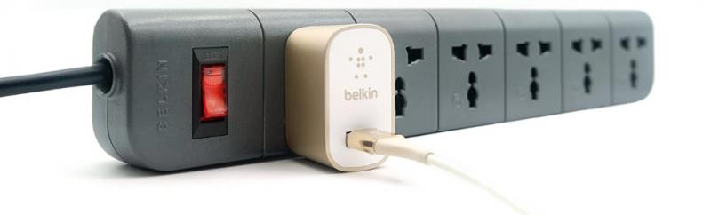 Belkin Essential Series 6 Socket Surge Protector Universal Socket: Best Extension Board