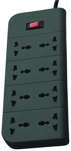 Belkin Essential Series 8 Socket Surge Protector Universal Socket: Best Extension Board