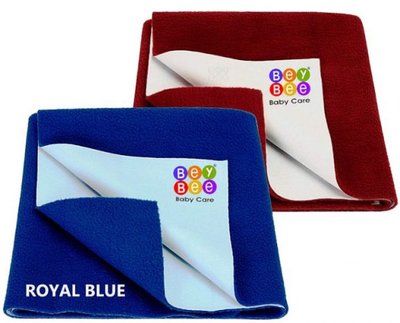 Bey Bee Water Resistant Bed Protector Baby Dry Sheet with Ultra Absorbance: Best Baby Dry Sheet