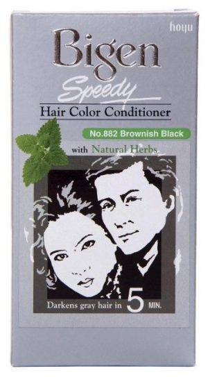 Bigen Speedy Hair Color, Brownish Black 882: Hair Color Brand
