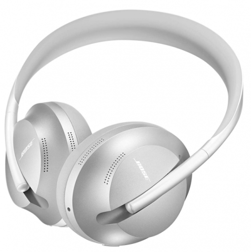 Bose Noise Cancelling Headphones 700, with Alexa Control, Silver Luxe: Best Noise-Canceling Wireless Headphone