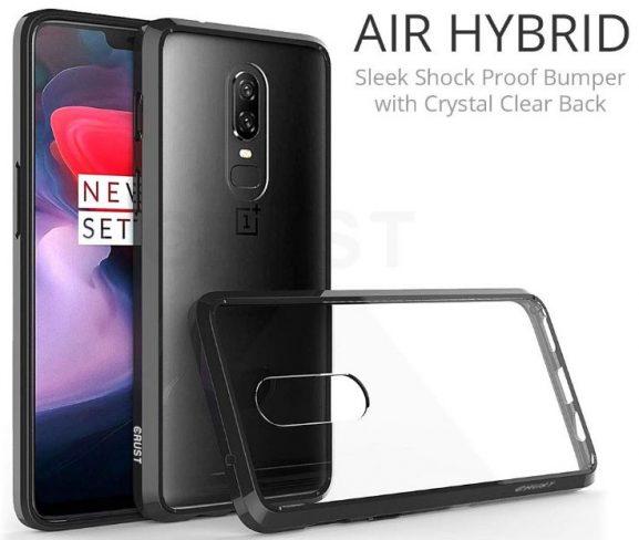 Crust Air Hybrid: Oneplus 6 Back Cover