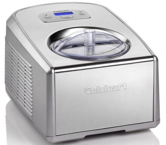 Cuisinart 220V Professional Gelato and Ice Cream Maker, Silver: Best Ice Cream Maker In India Done